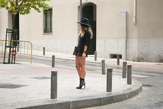 Jennifer zeuner sunny ruga black hat look 1