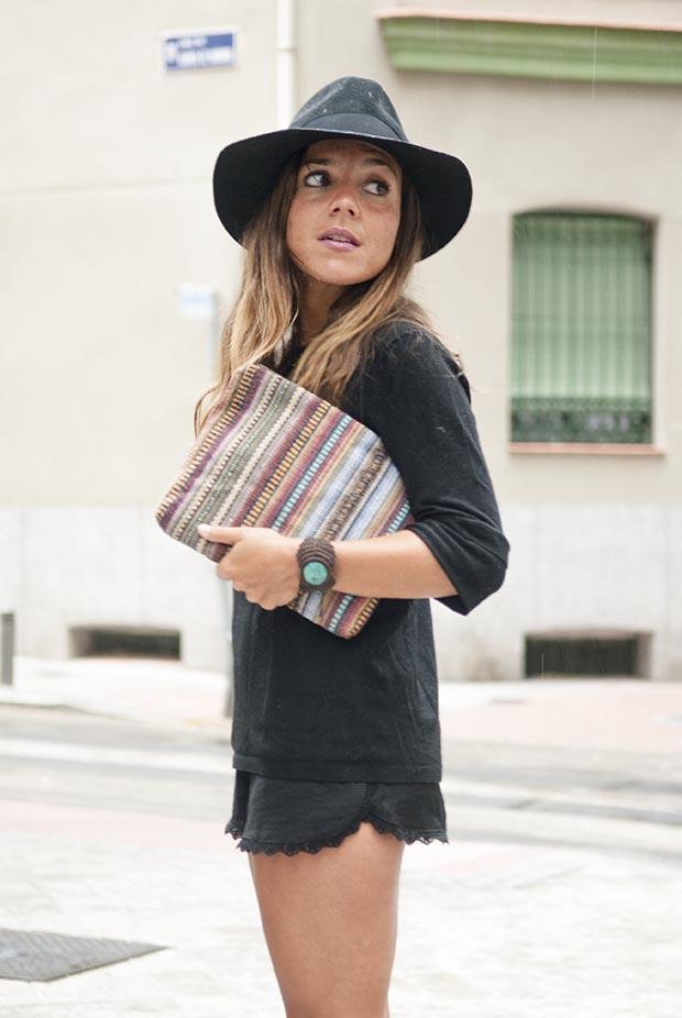 Jennifer zeuner sunny ruga black hat look 8