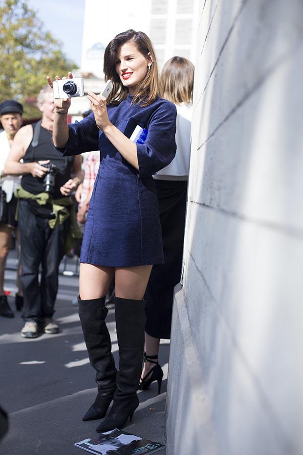 Paris fashion week street style  4