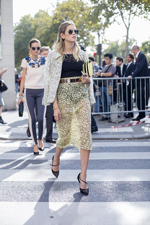 Paris fashion week street style  8