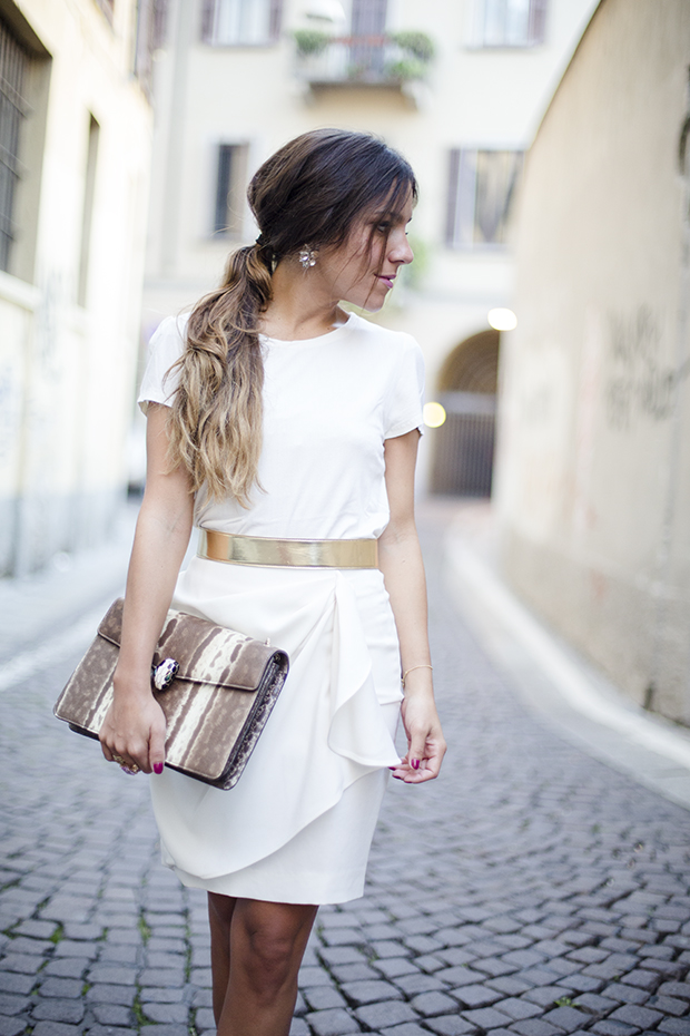 white in milan fashion week 2