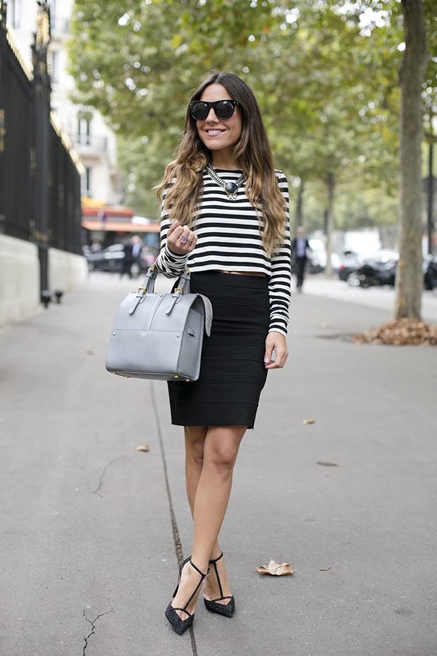 cropped top fashion week paris pfw 1