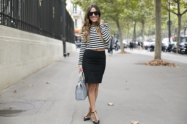 cropped top fashion week paris pfw 3