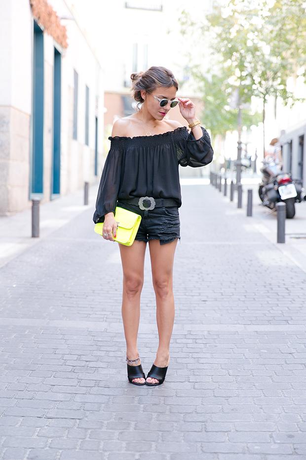 Black outfit summer mr boho 1