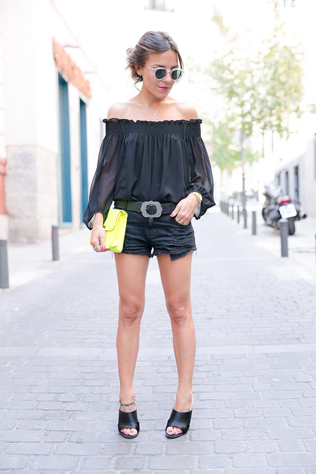 Black outfit summer mr boho 7