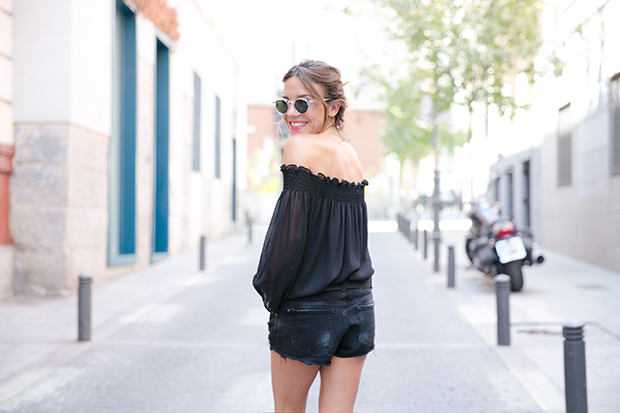 Black outfit summer mr boho 8