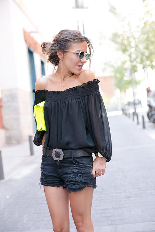 Black outfit summer mr boho 9