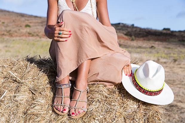 American vintage skirt bohocic hat 3