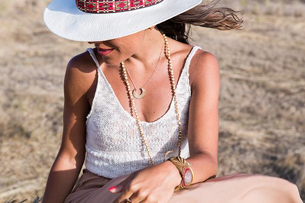 American vintage skirt bohocic hat 4