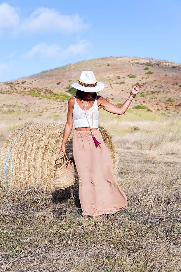 American vintage skirt bohocic hat 6