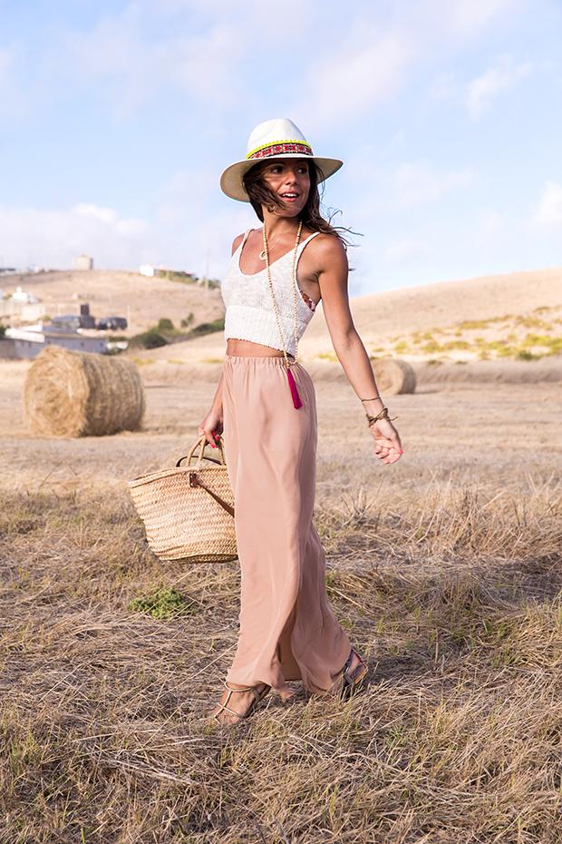 American vintage skirt bohocic hat 8