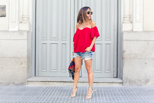 Revolve clothing red 3
