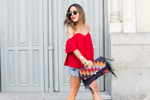 Revolve clothing red 5