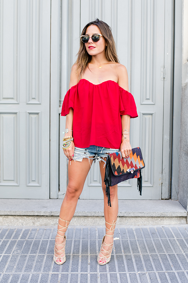 Revolve clothing red 8