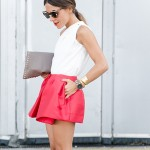 MBFWM: IN RED SHORTS