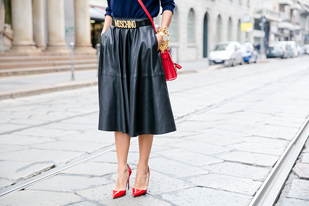 moschino zara mfw milan fashion week street style 7