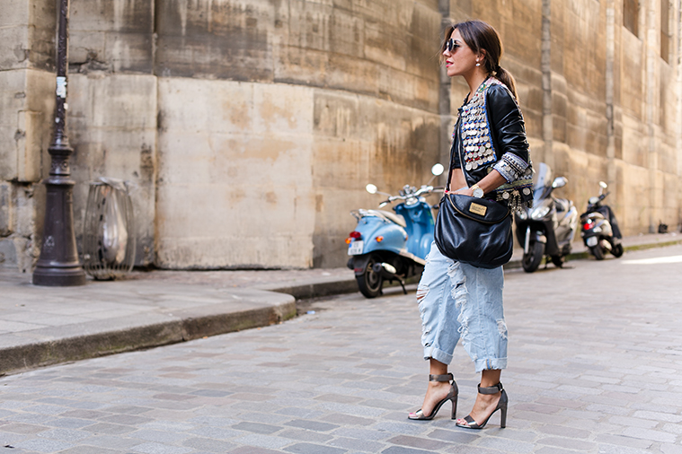 paris street style fashion week zahir Loewe 1