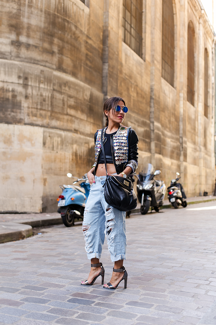 paris street style fashion week zahir Loewe 3