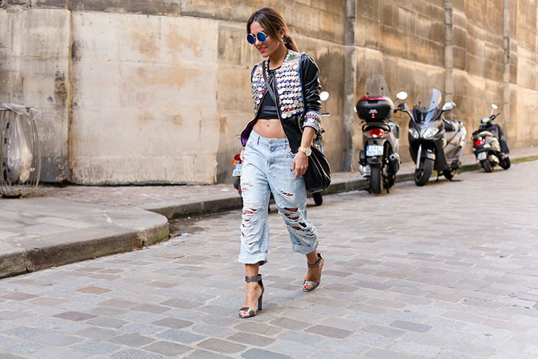 paris street style fashion week zahir Loewe 9