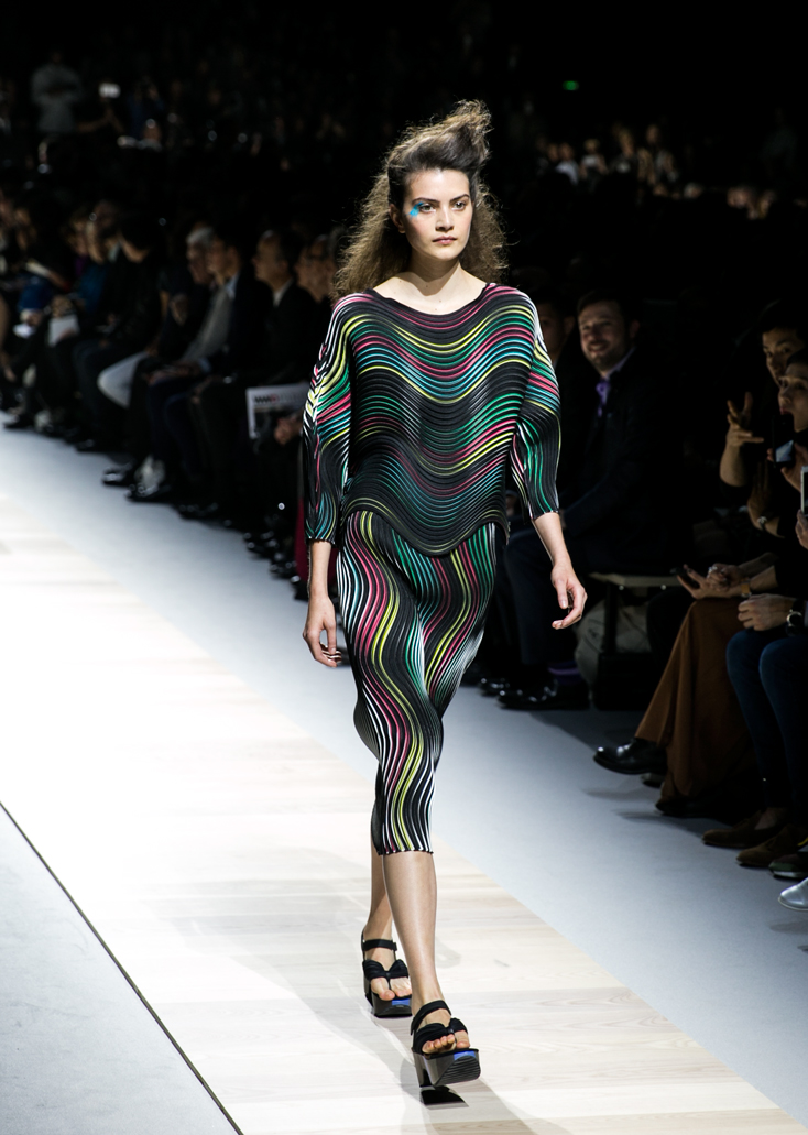 Clothing By Baking It In An Oven By Issey Miyake: Botanical Delights