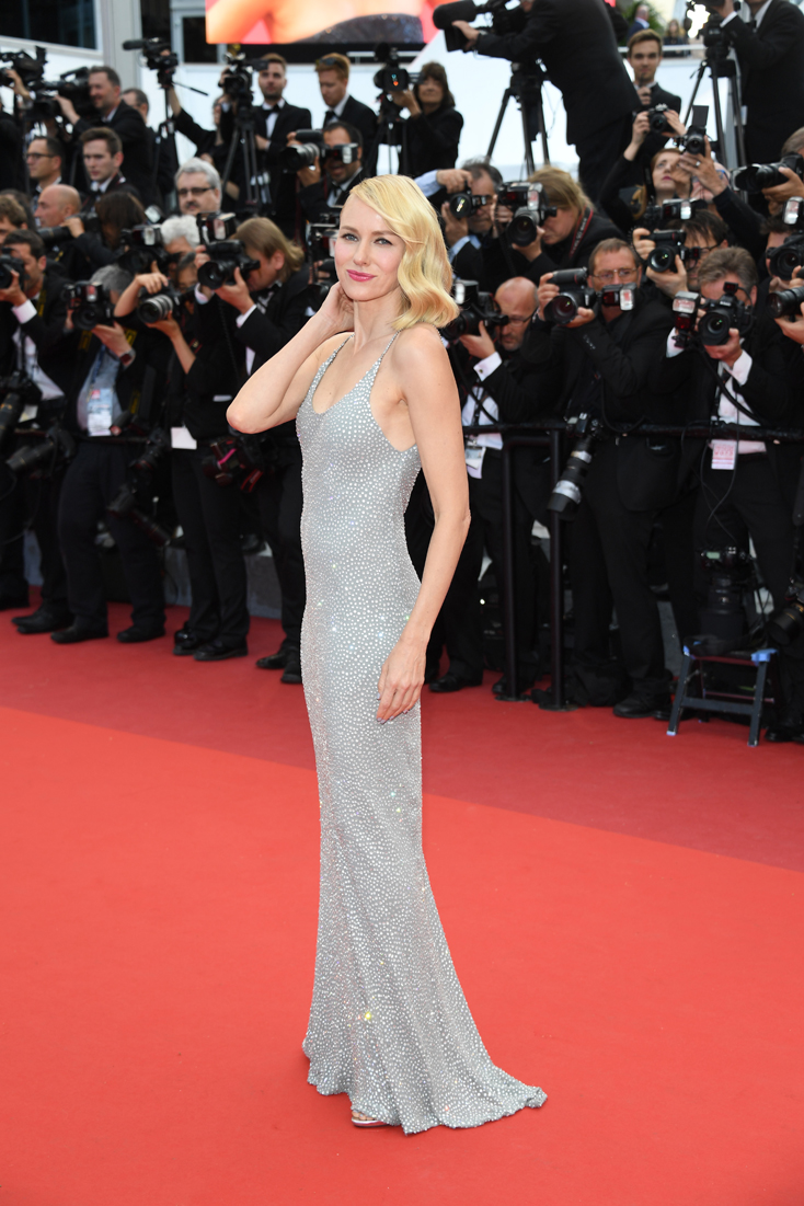 "CANNES, FRANCE - MAY 12: Australian actress Naomi Watts attends the ""Money Monster"" premiere during the 69th annual Cannes Film Festival at the Palais des Festivals on May 12, 2016 in Cannes, France. (Photo by Venturelli/WireImage)"