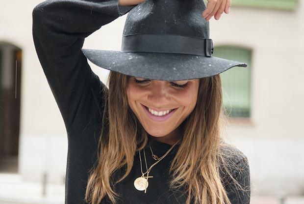 Jennifer zeuner sunny ruga black hat look 9