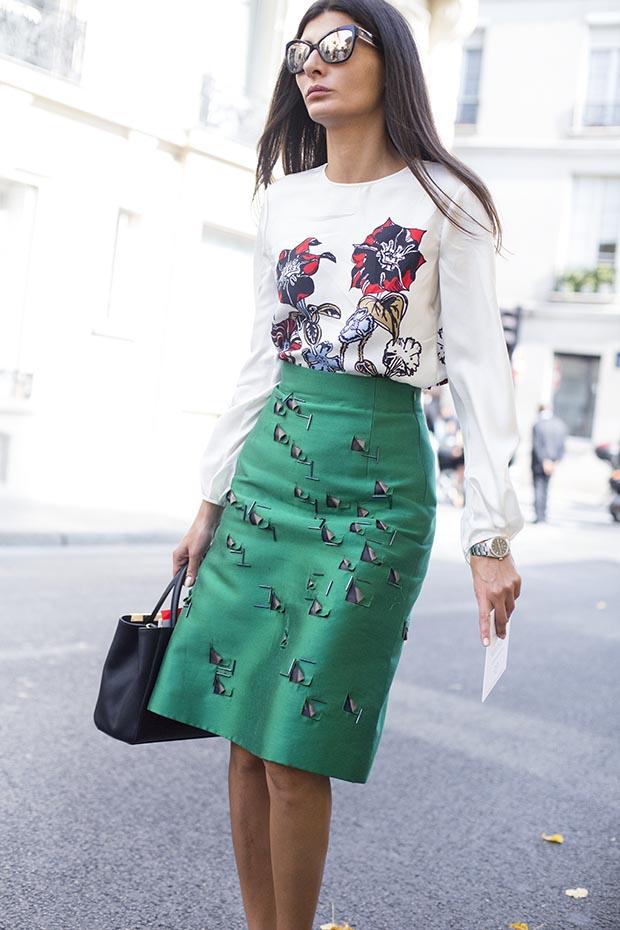 Paris fashion week street style  2
