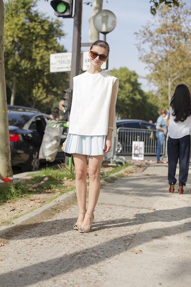 Paris fashion week street style  5