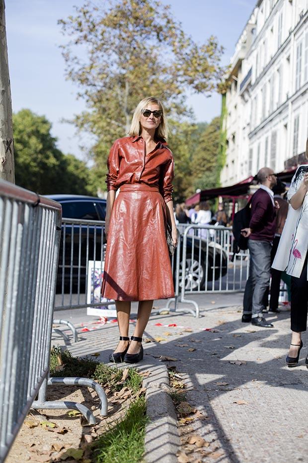 Paris fashion week street style  6
