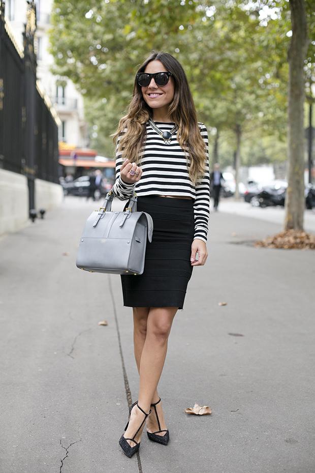 cropped top fashion week paris pfw 1