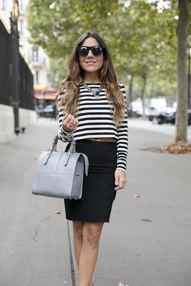cropped top fashion week paris pfw 9