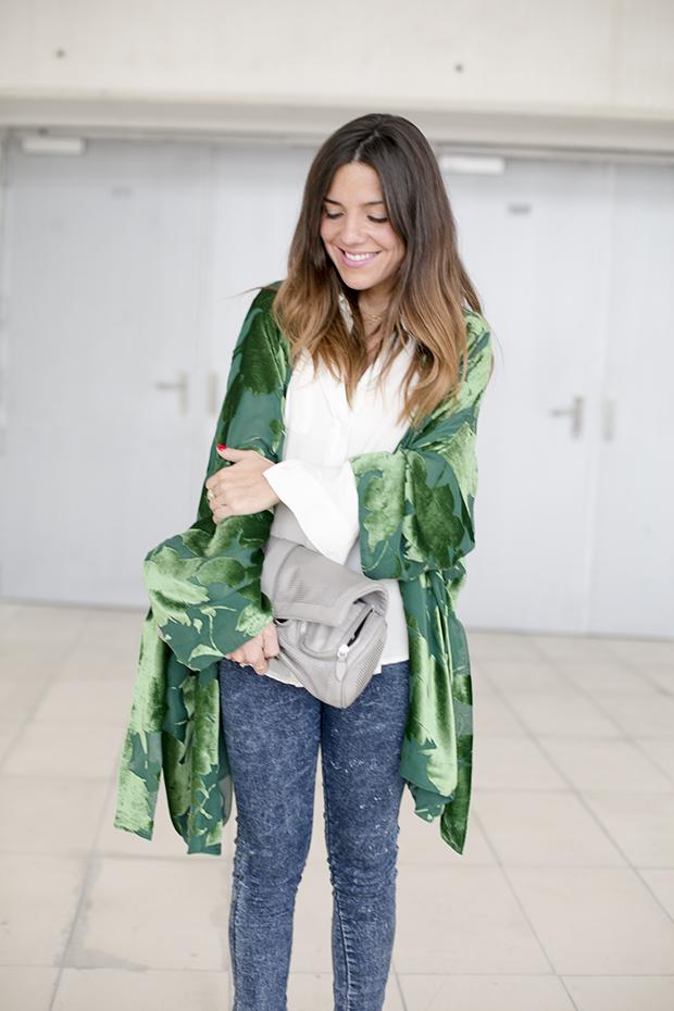 Fashion week Ana Locking armani 1