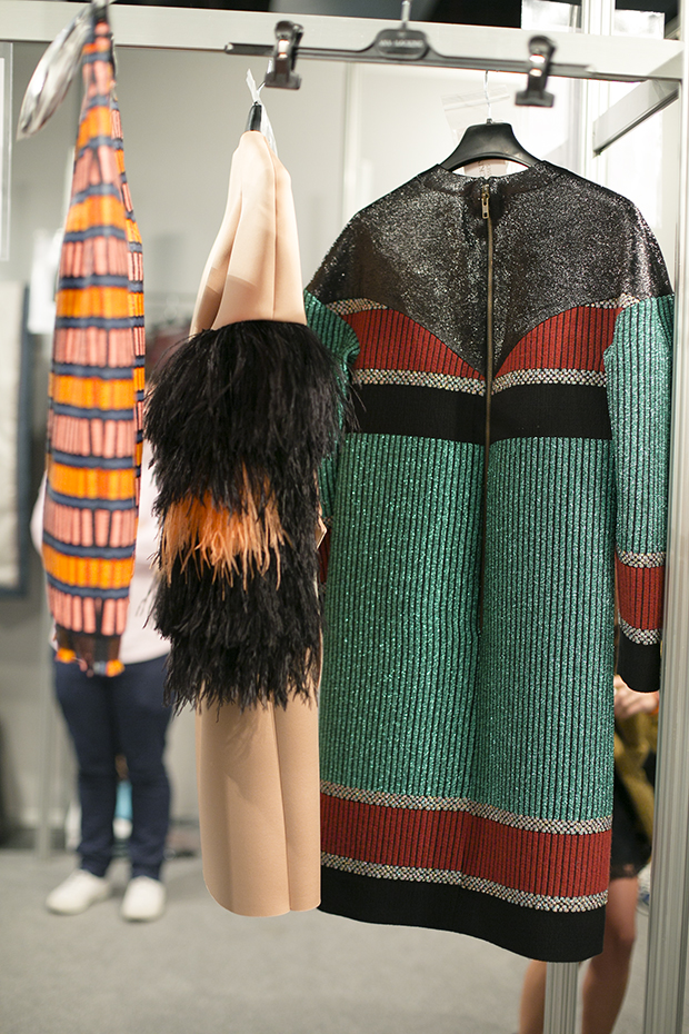 Fashion week Ana Locking armani 12