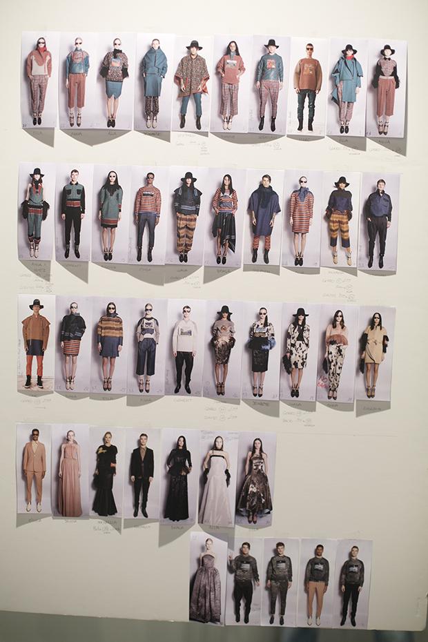 Fashion week Ana Locking armani 14