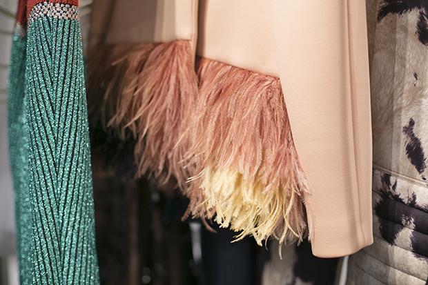 Fashion week Ana Locking armani 16