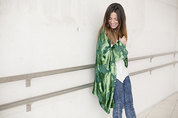Fashion week Ana Locking armani 2