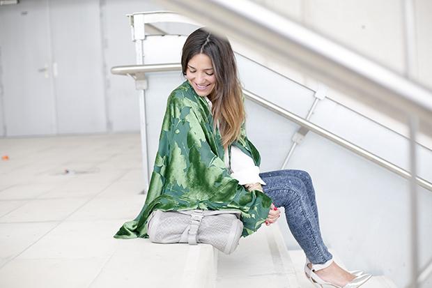 Fashion week Ana Locking armani 5