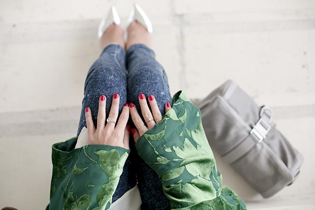 Fashion week Ana Locking armani 6