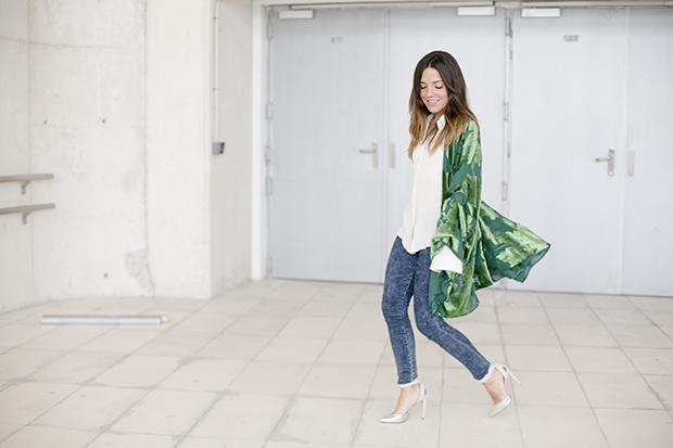 Fashion week Ana Locking armani 7