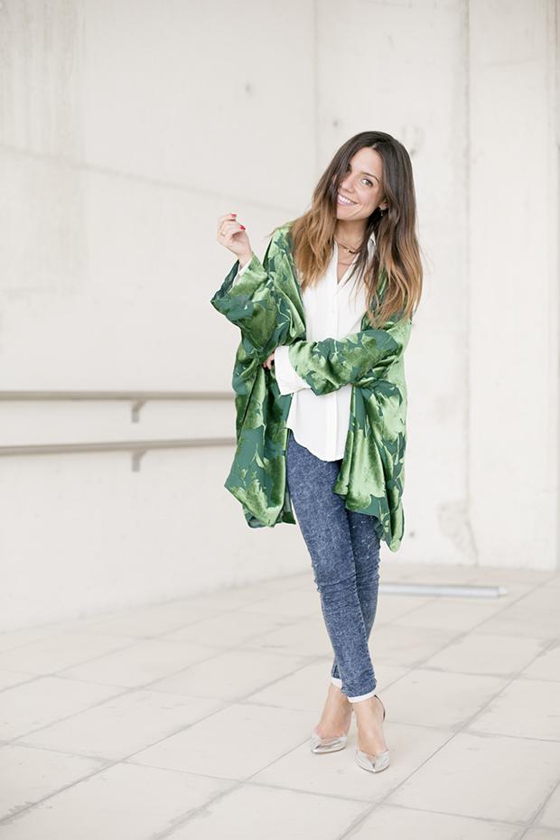 Fashion week Ana Locking armani 8