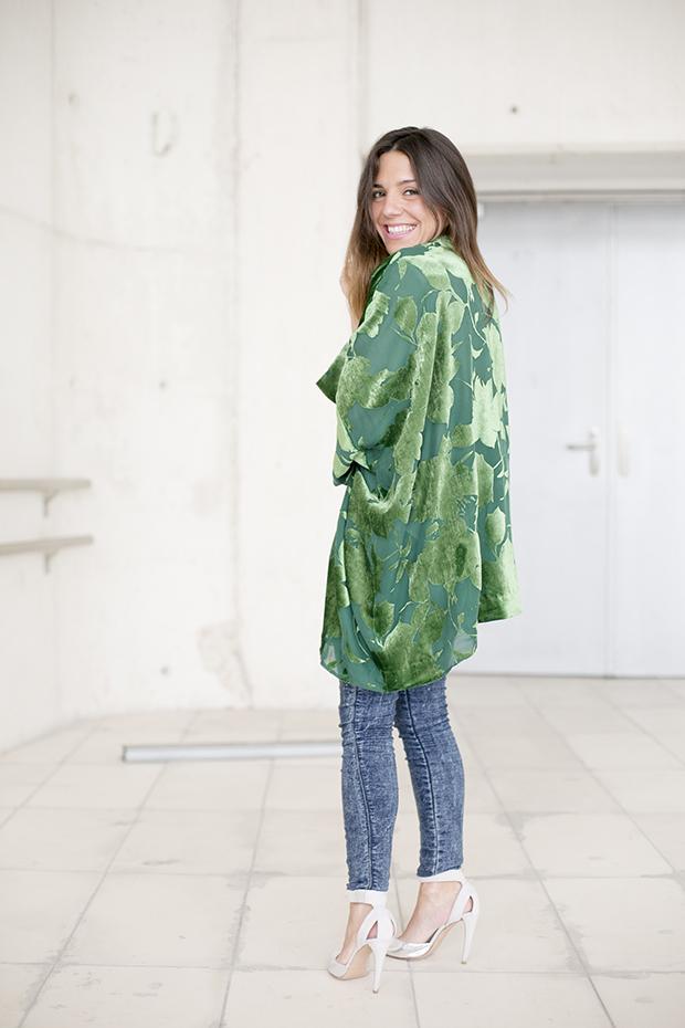 Fashion week Ana Locking armani 9