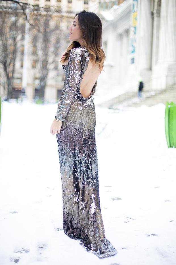 Fashion week ny pailletes 1