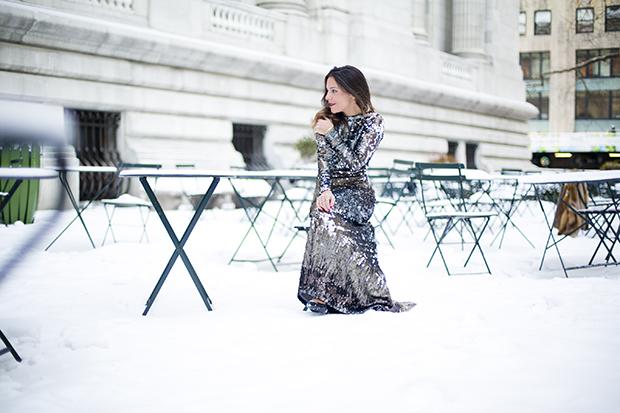 Fashion week ny pailletes 10