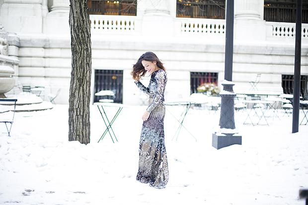 Fashion week ny pailletes 5