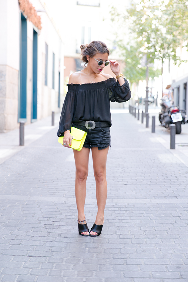Black outfit summer mr boho 1