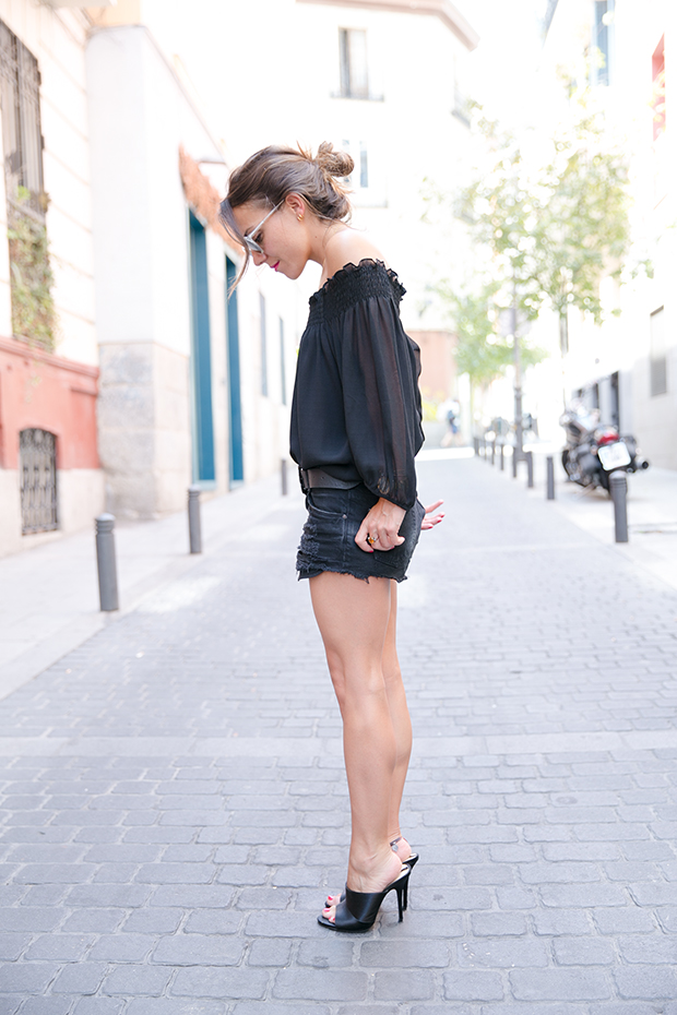 Black outfit summer mr boho 10