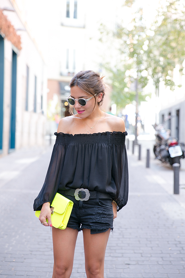 Black outfit summer mr boho 2