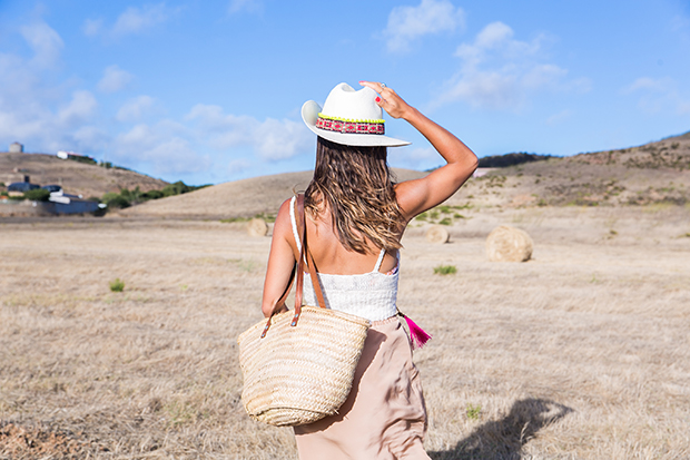 American vintage skirt bohocic hat 1