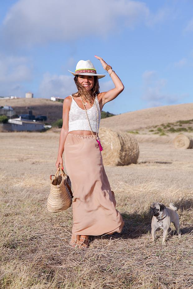 American vintage skirt bohocic hat 9