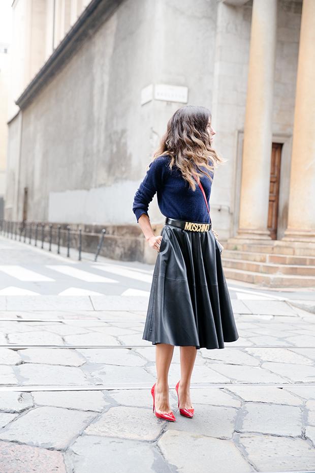 moschino zara mfw milan fashion week street style 11